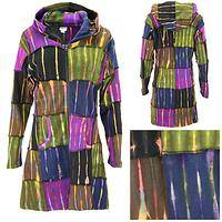 Dusky Garden Patchwork Long Jacket