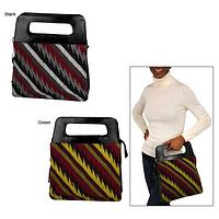 Inca Leather & Wool Handbag