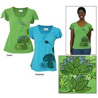 Lotus Dreams Organic Cotton Tee