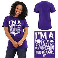 I'm A Puppy Lovin Kind of Girl T-Shirt