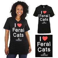 Jackson Galaxy I Heart Feral Cats T-Shirt