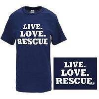Live Love Rescue T-Shirt