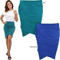 Organic Layered Pencil Skirt