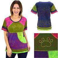 Patchwork Paw T-Shirt
