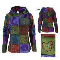 Paws of Many Colors Patchwork Jacket