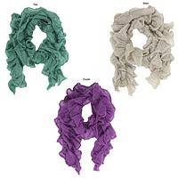 The Silky Way - Rwandan Mohair & Silk Three-Season Scarf