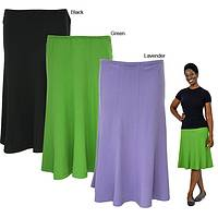 Simply Essential Organic Cotton Panel Skirt