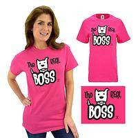 Real Boss Dog T-Shirt