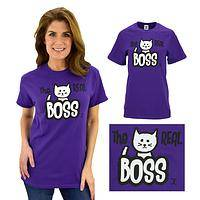 Real Boss Cat T-Shirt