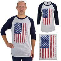 Proud to Serve Veteran Baseball T-Shirt