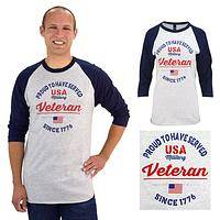 All-American Style! - Proud to Have Served Veteran Baseball Top Unisex