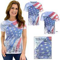 We The People Consitution Flag Tee