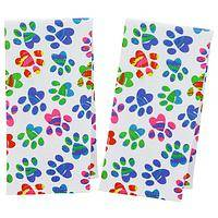 Painted Paws Kitchen Towels - Set of 2