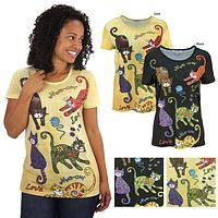 Playtime Cats Top