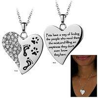 Pets Have a Way Stainless Steel Necklace