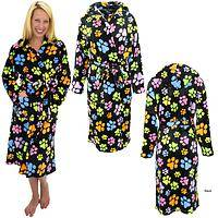 SuperCozy™ Paws Galore Hooded Bathrobe