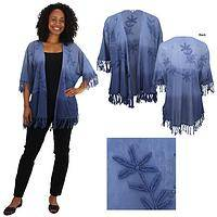 Wrapped Up in Blues Lightweight Top