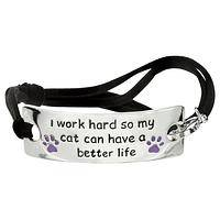 Better Life Cat Adjustable Bracelet