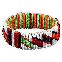 Kenyan Beaded Bangle