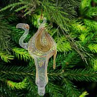 Camel Glass Ornament