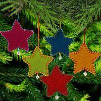 Seeing Stars Ornaments - Set of 5