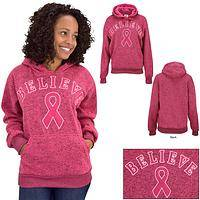 Believe Applique Hooded Sweatshirt
