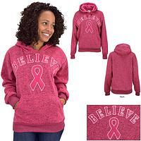 Believe Applique Hooded Sweatshirt