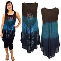 Earth & Sky Sleeveless Tunic