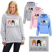 Dog Wiggle Hooded Sweatshirt