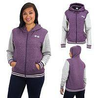 Purple Paw Two-Tone Jacket