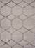 Hand-tufted geometric pattern grey-beige wool blend area rug, 'Intersection' - Hand-Tufted Geometric Pattern Grey-Beige Wool Blend Area Rug thumbail