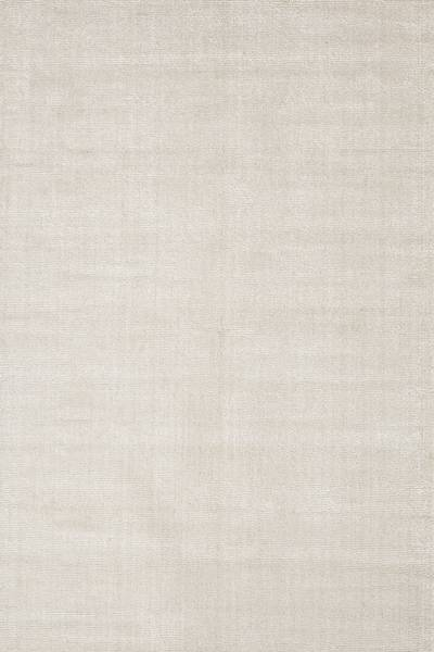 Hand loomed ivory striped wool blend area rug, 'Ivory Summer' - Hand Loomed Striped Ivory Wool Blend Area Rug