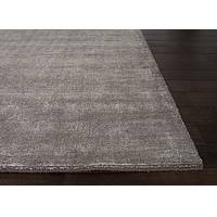 Hand loomed flint striped wool blend area rug, 'Soapstone' - Hand Loomed Striped Flint Wool Blend Area Rug