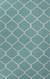 Flat-weave geometric blue/ivory wool area rug, 'Sky Winslow' - Flat-Weave Geometric Blue/Ivory Wool Area Rug thumbail