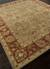 Hand-tufted wool area rug, 'Golden Hills' - Hand-Tufted Green/Red Wool Area Rug (image 2c) thumbail
