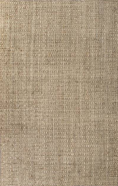 Natural Textured Jute Taupe Tan Area Rug Harvest Gold