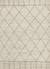Hand-knotted Moroccan pattern ivory/taupe wool area rug, 'Ethereal' - Hand-Knotted Moroccan Pattern Wool Ivory/Taupe Area Rug thumbail
