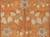 Hand-tufted wool area rug, 'Cinnamon Garden' - Hand-Tufted 100% Wool Area Rug in Shades of Orange (image 2e) thumbail