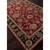 Classic oriental red/black wool area rug, 'Crimson Orient' - Classic Oriental Red/Black Wool Area Rug (image 2c) thumbail