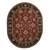 Classic oriental red/black wool area rug, 'Crimson Orient' - Classic Oriental Red/Black Wool Area Rug (image 2g) thumbail