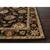 Classic oriental black/red wool area rug, 'Noir Orient' - Classic Oriental Black/Red Wool Area Rug (image 2b) thumbail