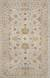 Classic oriental grey/cream wool area rug, 'Glacier Madrone' - Classic Oriental Grey/Cream Wool Area Rug thumbail