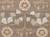 Classic arts and crafts taupe/blue wool area rug, 'Bowan' - Classic Arts And Crafts Taupe/Blue Wool Area Rug (image 2e) thumbail