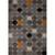 Flat-weave geometric multi wool area rug, 'Buttons' - Flat-Weave Geometric Multi Wool Area Rug thumbail