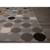 Flat-weave geometric multi wool area rug, 'Buttons' - Flat-Weave Geometric Multi Wool Area Rug (image 2b) thumbail