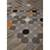 Flat-weave geometric multi wool area rug, 'Buttons' - Flat-Weave Geometric Multi Wool Area Rug (image 2c) thumbail