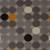 Flat-weave geometric multi wool area rug, 'Buttons' - Flat-Weave Geometric Multi Wool Area Rug (image 2e) thumbail
