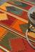 Flat-weave tribal red/multi wool area rug, 'Arizona' - Flat-Weave Tribal Red/Multi Wool Area Rug (image 2d) thumbail
