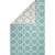 Flat-weave moroccan blue/ivory reversible cotton area rug, 'Clear Day' - Flat-Weave Moroccan Blue/Ivory Reversible Cotton Area Rug thumbail