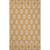 Flat-weave tribal yellow/ivory cotton area rug, 'Golden Mirage' - Flat-Weave Tribal Yellow/Ivory Cotton Area Rug thumbail